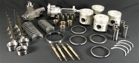 KIT ENGINE ISUZU C201 List of parts of this Set for Thermoking engine C201 1x Gasket Set HP-30-175 4x Piston O.S.0,25 HP-11-4849 4x Piston Rings O.S. 0,25mm HP11-8079 1x Main Bearing Set HP-11-4785 1x Oil Pump HP-11-5338 4x Valve Intake HP-11-2727 4x Valve Exhaust HP-11-2719 4x Valve Guide Intake HP-11- 3374 4x Valve Guide Exhaust HP-11- 3375 1x Cam Bearing Set HP-11-3845 1x Trust Washer (1set,2Halves) HP-11-3404 4x Bearing Rod HP-11-5744 4 Bushing Connecting Rod HP 11-3418 (Before Serial #645050) 4x Glow Plug HP-44-2922 1x Oil Switch HP-44-4774 1x Hose Waterpump HP-11-4564 1x Waterpump HP-11-4576 1x Block Freeze Plug Set HP-10- 258 1x Head Freeze Plug Set HP-10- 259 1x Speedi-Sleeve HP-30-197 Old Artikelcode : HP-10-271 Australian after market part