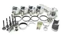 ENGINE KIT  KUBOTA 134DI (V2203) TIER 1 Eng# 26-50000-xx (prior to serial# XA0001  Please Select Bearings, Pistons Size In Additional Parts Below. CA-4-134DI-XXX ENGINE KIT CT4-134DI Australian after market part