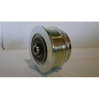 Thermoking  77-2901, 772901, 772-901 IDLER ASSY C0MP GROOVE IDLER - pulley (grooved pulley)   IDLER  ASSY - pulley (grooved pulley)  Specifications P6 - ø 82 mm / Axe 20 mm Original number     NOTE: THERMO KING:78-1622 With Out Spindle THERMO KING: 77-2901 with spindle THERMO KING SLX 400 SLX Whisper / 400e / 300 / 200 / 400 50 / 100 This part is compatible or replaces part numbers:  Thermoking 77-2901, 772901, 772-901 , Australian after market part