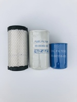 FILTER KIT SUPRA 422 550 622 644 650 722 744 750 844 850 (NO WATER SEP) (W/941172OR30-60118-00) INCLUDES: (1) CA-30-60049-20-AM AIR FILTER (1) CA-30-00302-00-AM FUEL FILTER (1) CA-30-60118-00-AM OIL FILTER 00-AM CARRIER Supra 422 / 550 / 622 / 644 / 722 / 744 / 750 / 850 / 650 / 844 Australian after market partsCARRIER FUEL-FILTER 30-00302-00, 300030200, 30-0030200 OIL-FILTER 94-1172 941172 941-172 30-60118-00 306011800 30-6011800  AIR FILTER 30-60049-20 306004920 30-6004920 30-60075-00 306007500 30-6007500 Total Parts is a wholesale transport refrigeration company. We are a supplier for original OEM and Aftermarket parts, based in Adelaide, South Australia. We specialise in shipping to all states and territories across Australia. We offer a wide range of service and replacement parts for Thermo King and Carrier transport refrigeration units.