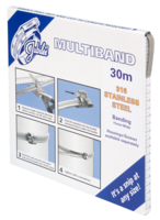JB-MB1902 Multiband 316 Stainless Steel 11mm Banding 30m (Highest Corrosion Resistance)