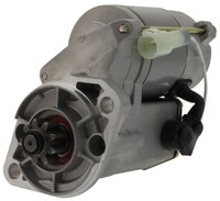 CA-25-39135-00-AM After MarketSTARTER MOTOR ENGINE: CT4-114 & CT4-134 Applications (Tier 2 or Earlier) CARRIER Extra XT / Eagle  Description:Starter  OEM(s) replaced:Denso, Kubota Family:Denso RA Voltage:12  Power:1.4kW / 1.88HP Condition:New  Rotation:CW  Starter Type:OSGR Carrier Transicold25-39135-00, 25-39135-00RM Denso228000-066, 228000-0660, 228000-0661, 228000-0662, 228000-0663, 228000-0664, 9722809-066 Kubota16661-63011, 16661-63012, 16661-63013, 16661-63015 Leece Neville20513040 Lester18277 LucasLRS01332 PIC Picture ID190-388 Remy Light Duty69033, 93588 Wilson91-29-5405 Carrier TransicoldExtraDiesel- Carrier TransicoldGenesis TM1000Diesel- Carrier TransicoldGenesis TM900Diesel- Carrier TransicoldGenesis TR100Diesel- Carrier TransicoldPhoenix UltraDiesel- Carrier TransicoldPhoenix Ultra XLDiesel- Carrier TransicoldRG15Diesel- Carrier TransicoldUG15Diesel- Carrier TransicoldUltima 53Diesel- Number of Teeth:9  Gear OD:1.331in / 33.8mm Mtg Ear 1 Hole:11.5mm Unthreaded  Mtg Ear 2 Hole:11.5mm Unthreaded Thunderbird Europhoenix Europhoenix This part is compatible or replaces part numbers: Carrier, 25-38750-00, 25-37640-00, 25-37725-00, 25-39135-00 Australian after market part