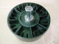 Description Related products Idler Pulley     USED     Units:    Spectrum TS 500, TS500, TS-500     ⌀ outside - 140mm  h - 49mm  ⌀ ext. of mandrels - 13mm  h with pin - 57mm     Catalog number:   Thermo King   77-2697, 772697, 772-697